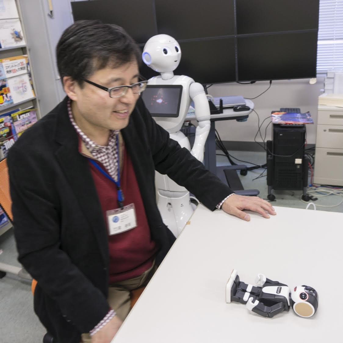 音声対話ロボット